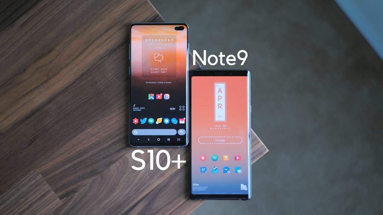 Galaxy S10+ vs Note9: Does Samsung's flagship still stack up? - Android Police