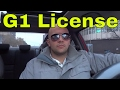 4 Tips For Getting Your G1 License-Passing The Test