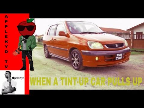 When a tint-up car pulls up (Guyanese Jokes)