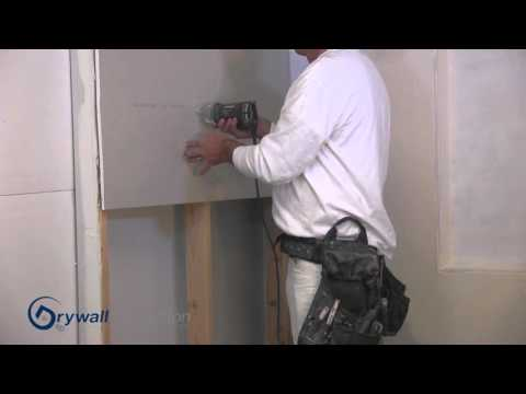 How to use a drywall router -  Drywall Instruction