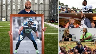 Скачать K J Wright Named Seahawks Man Of The Year