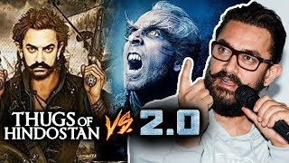 Aamir Khan Finally Speaks On Thugs Of Hindostan & Robot 2 CLASH