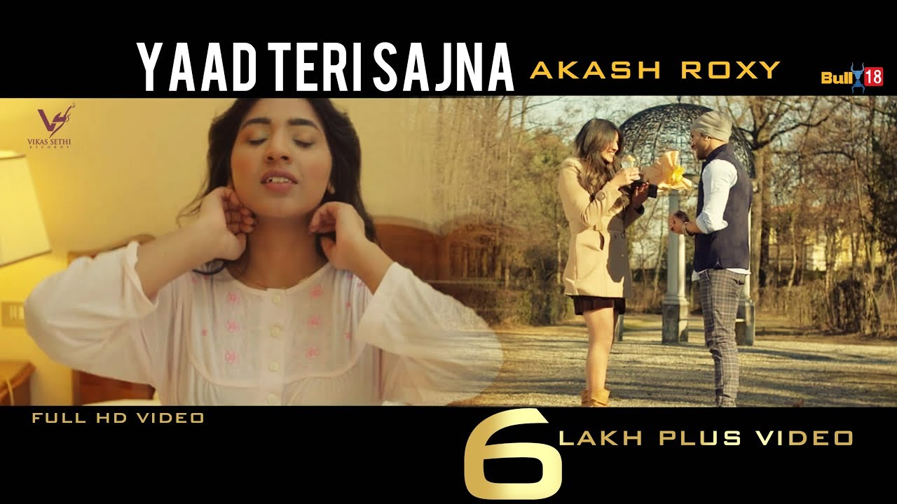 Yaad Teri Sajna - Akash Roxy   VS Records   Latest Punjabi ...
