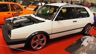 Volkswagen Golf 2 1991 Sondermodell Function at Essen Motorshow - Exterior Walkaround