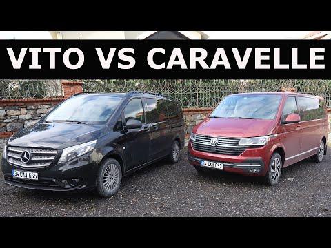 Yeni VW Caravelle Vs Mercedes-Benz Vito - Hangisi?