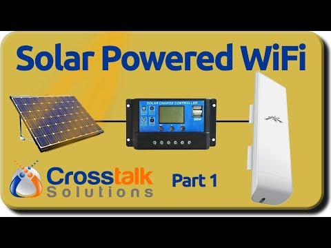 Solar Powered WiFi - Part 1