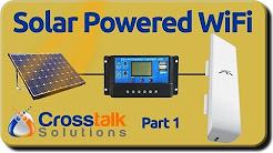 Solar Powered WiFi - Part 1