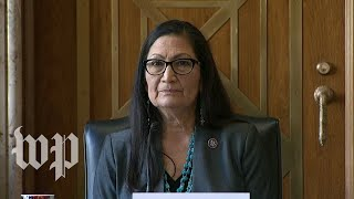 Deb Haaland's full opening statement at confirmation hearing