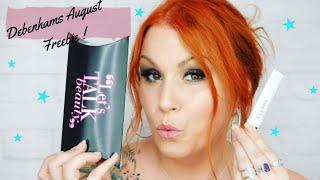 Freebie Alert! Debenhams Beauty Club August 2018