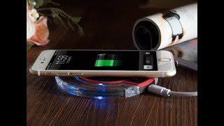 Как на обычном простом смартфоне сделать беспроводное ЦЫ ЧИ зарядное устройство. Зарядка по воздуху