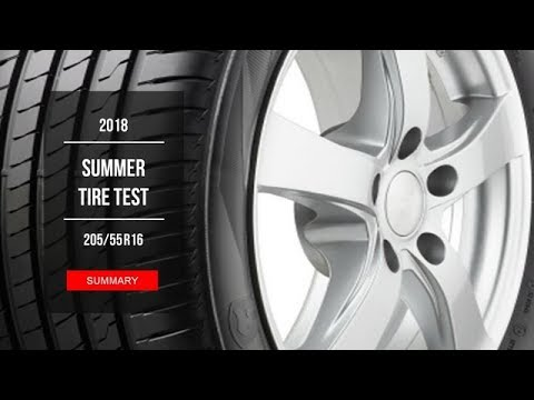 2018 budget summer tire test results 205 55 r16 youtube. Black Bedroom Furniture Sets. Home Design Ideas
