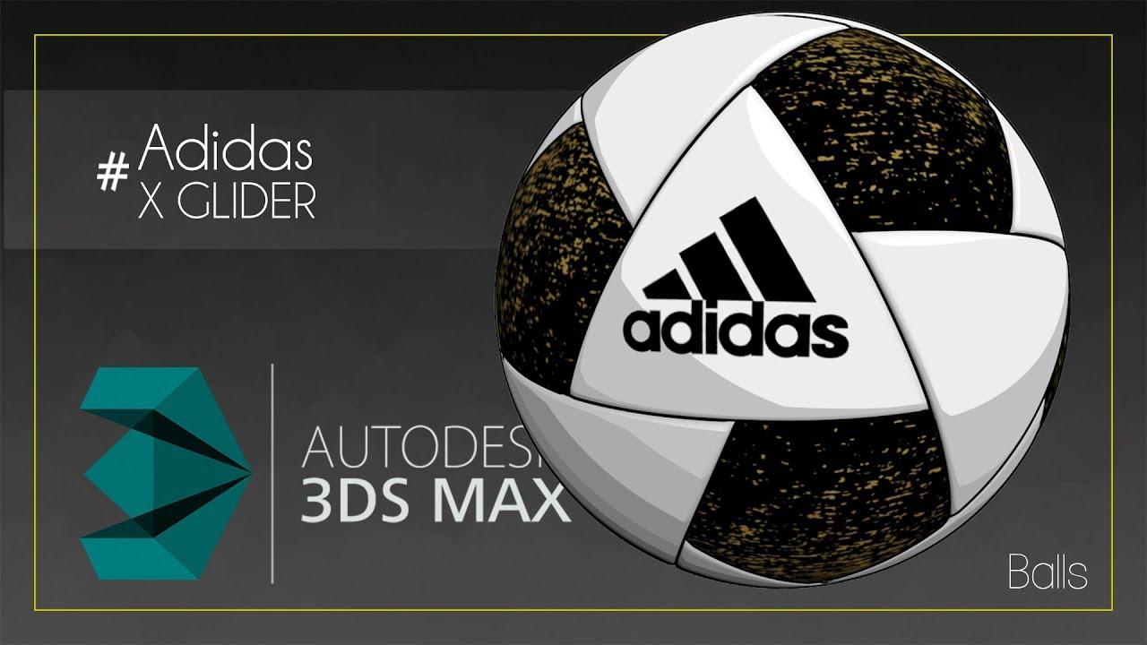 3ds Max Modelling Balls P6 X GLIDER