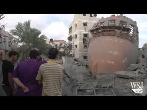 Gaza Cease-Fire Holds as Israel, Hamas Talks Begin