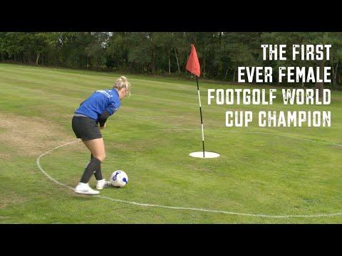 Footgolf's first female