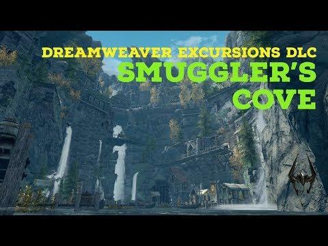 Skyrim PS4 Mods: Smuggler's Cove (DreamWeaver Excursions DLC)
