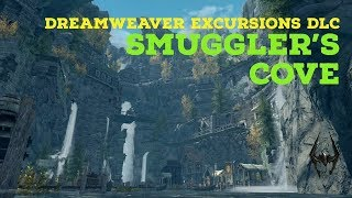 Skyrim PS4 Mods: Smuggler's Cove (DreamWeaver Excursions DLC)