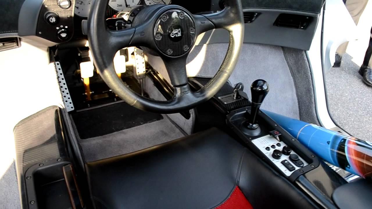 Mclaren F1 Lm Interior Details Hd Youtube