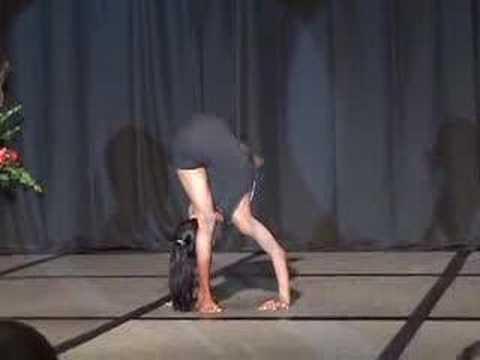 incredible young yogini