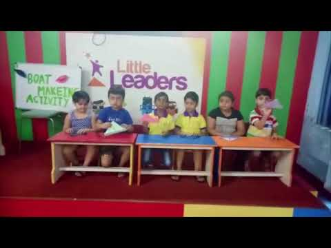 How To Make Paper Boats   Best Play School In Delhi NCR   Little Leaders