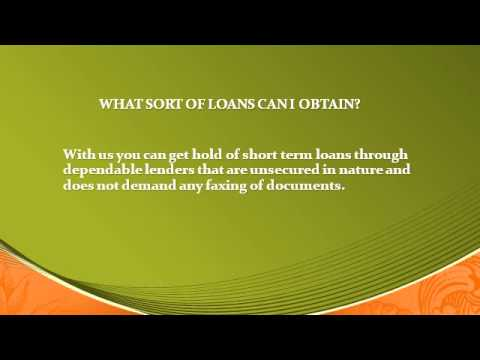 PERSONAL LOANS FOR BAD CREDIT & HOW TO GET A LOAN WITH BAD CREDIT from YouTube · Duration:  4 minutes 40 seconds  · 805 views · uploaded on 4/3/2017 · uploaded by Payday Loans