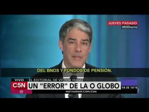 TV argentina C5N diz que Rede Globo é comparável ao Grupo Clarín no tocante a mentira e manipulação