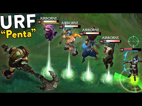 PERFECT URF MONTAGE - Best URF Moments 2019 - League Of Legends