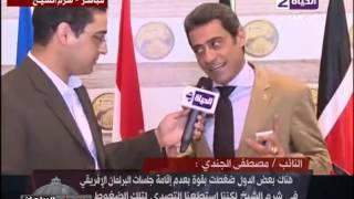 مصطفى الجندى: مصر تعيش على حس عبد الناصر فى إفريقيا لحد النهاردة..ومبارك معملش حاجة