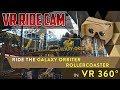Galaxy Orbiter VR Rollercoaster POV 360 - Galaxyland in West Edmonton Mall - Best Edmonton Mall