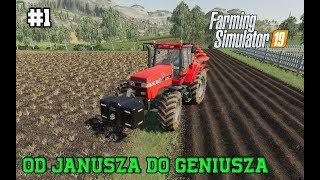 Farming Simulator 19 Od Janusza do Geniusza #1 Nie mając nic zacznij grać ;)
