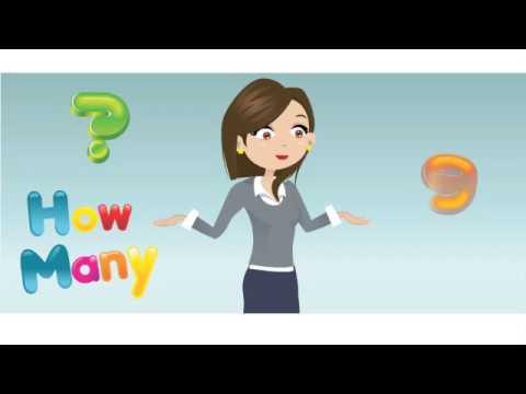 Okul Öncesi ilköğretim İngilizce Çocuk Şarkıları   how many Numbers pre-school english song