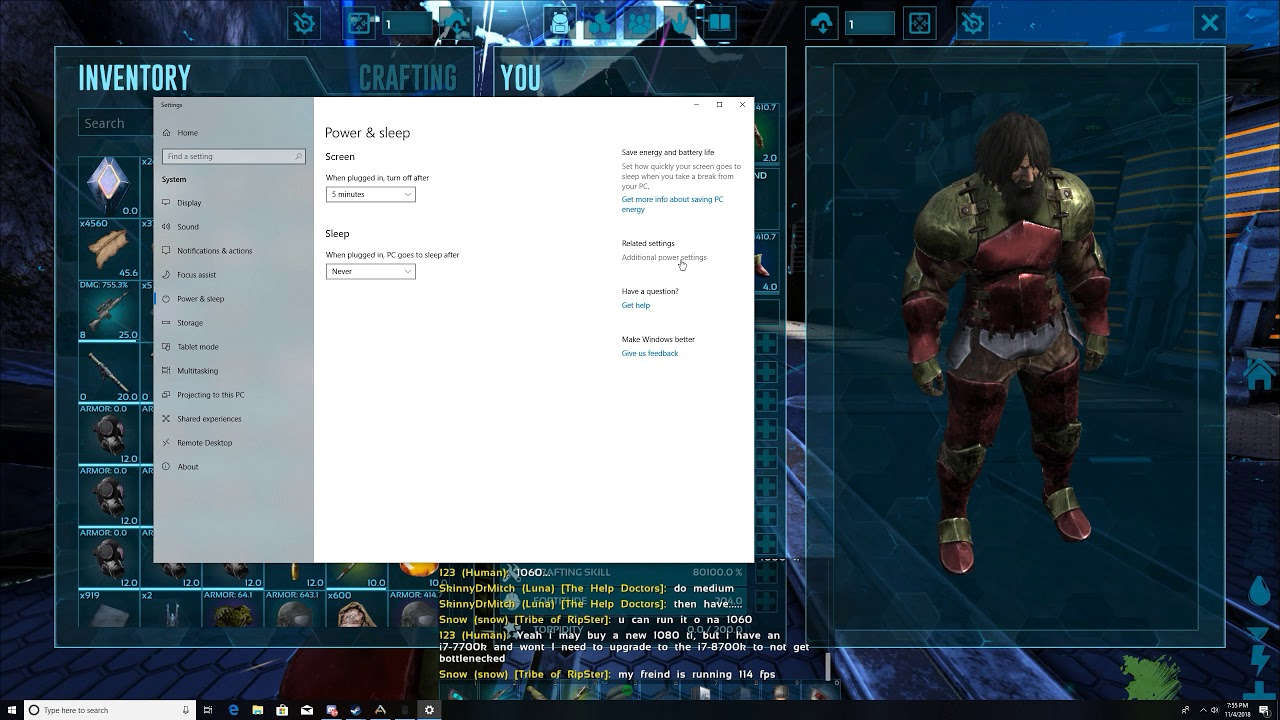 Reduce Computer CPU AFK in Ark Survival Evolved