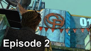 Tales from the Borderlands. Episode 2: Atlas Mugged. Optional subtitles. Movie.