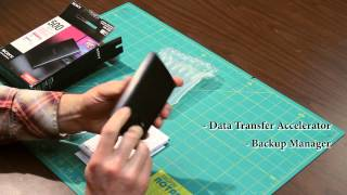 Sony HDEG5/B 500GB External Hard Drive Unboxing
