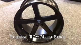Rohana - RC22 Matte Black 2016