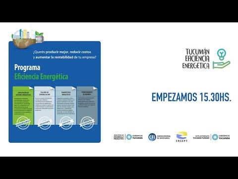 """Relanzamientovirtual del""""Programa Provincial de Eficiencia Energética para PyMEs"""""""
