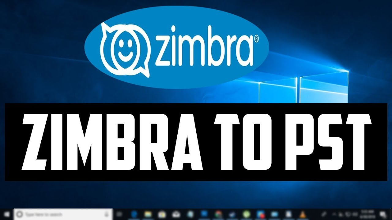 How to Convert Zimbra Desktop Mail Files into a pst