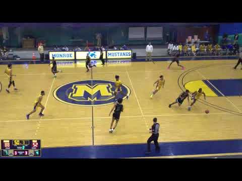 Monroe College Mustangs JV Basketball vs. SUNY Sullivan JV