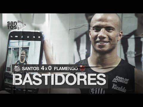 SANTOS 4 X 0 FLAMENGO | BASTIDORES | BRASILEIRÃO (08/12/19)