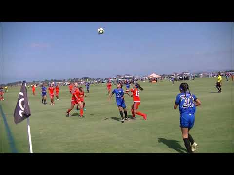 Rage 05 ECNL vs Surf Hawaii SC 05 Academy - San Diego  Surf Cup  -  05 Aug 2017