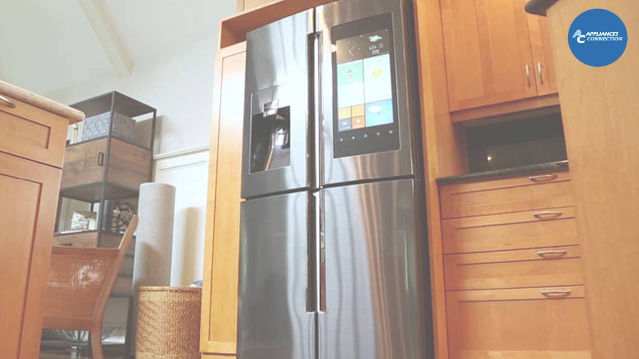 Samsung Family Hub French Door Regrigerator RF22K9581SR At  Www.appliancesconnection.com
