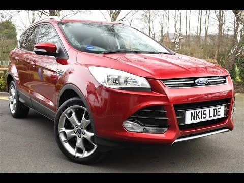 used ford kuga titanium 4x4 ruby red mica 2015 youtube. Black Bedroom Furniture Sets. Home Design Ideas
