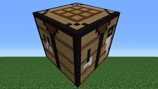 Minecraft Tutorial: How To Make A Crafting Table