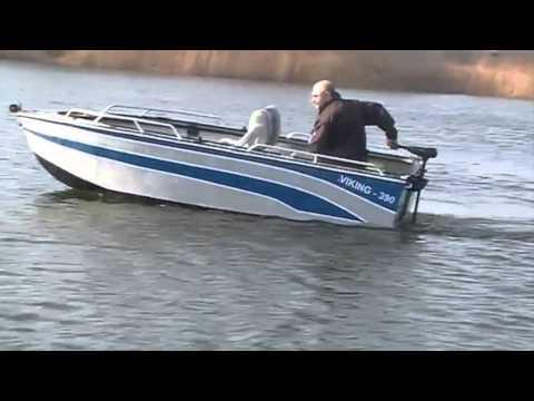VIKING 390A - test łodzi