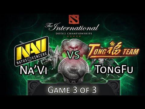 Na'Vi Vs TongFu - Game 3/3 - DoTA 2 The International 2013 Tournament Highlights