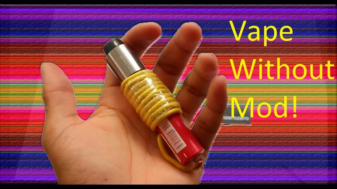 Vape Without Mod!    Vape Tanpa Mod!