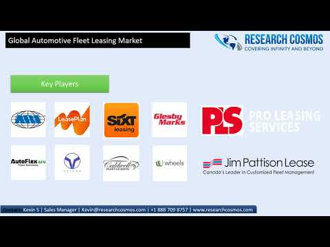 Automotive Fleet Leasing Market Will Reach USD 37410.9 million by 2023 | Research Cosmos