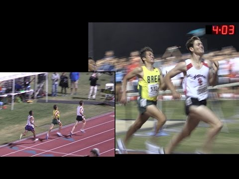 TF - APUAHS Meet of Champions - The Mile - Men&39;s Invitational