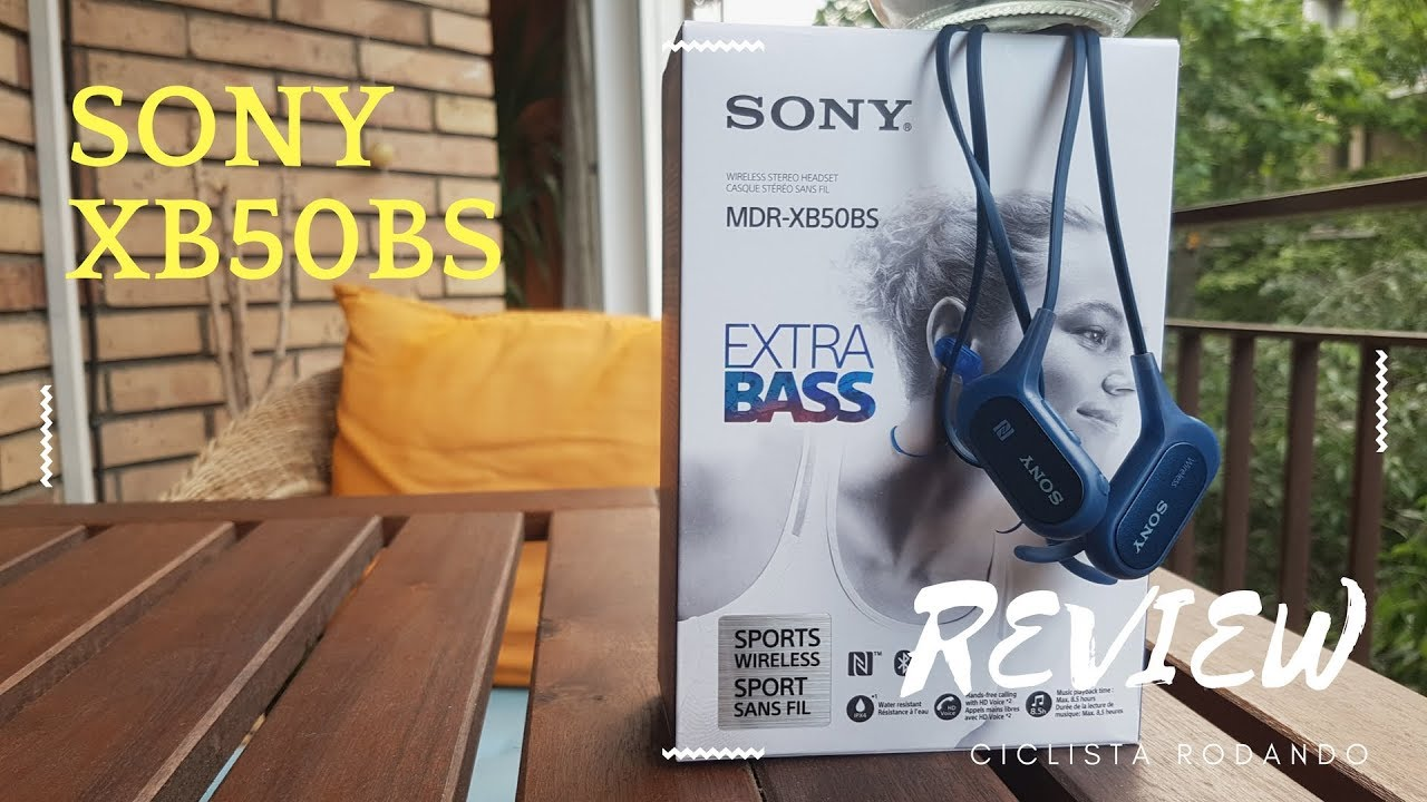 Sony MDR-XB50BS Auriculares Bluetooth - Review