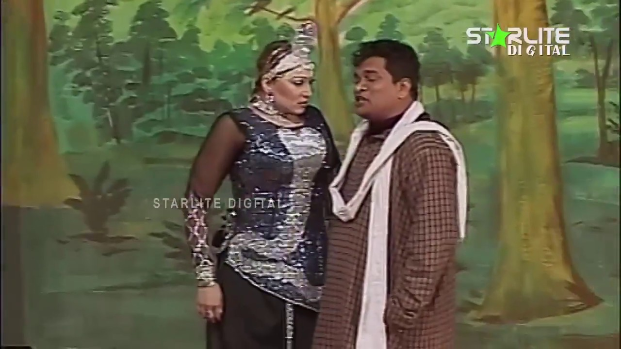 Sakhawat Naz and Anjuman Shahzadi New Pakistani Stage Drama Full Comedy Clip | Pk Mast