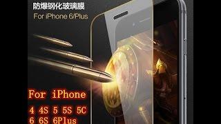 Защитные стекла на iPhone 4 и iPhone 5(Ссылка на Защитные стекла на iPhone: http://ali.pub/kfxvg Сегодня пришла очередная посылка с Алиэкспресс, это Защитные..., 2016-12-10T11:11:11.000Z)